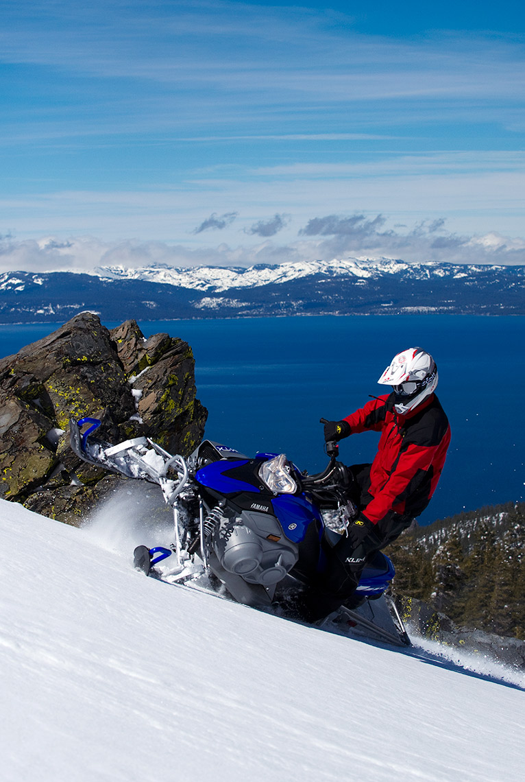 Snowmobiling Lake Tahoe - Nevada