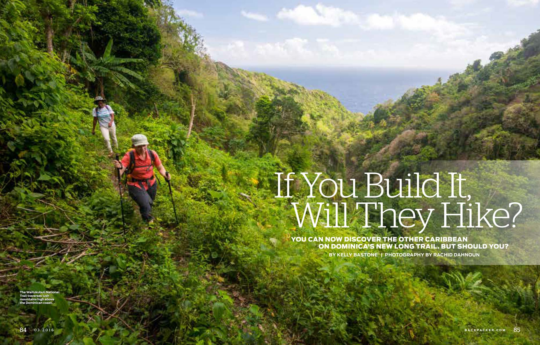 Backpacker Magazine - Waitukubuli National Trail, Dominica