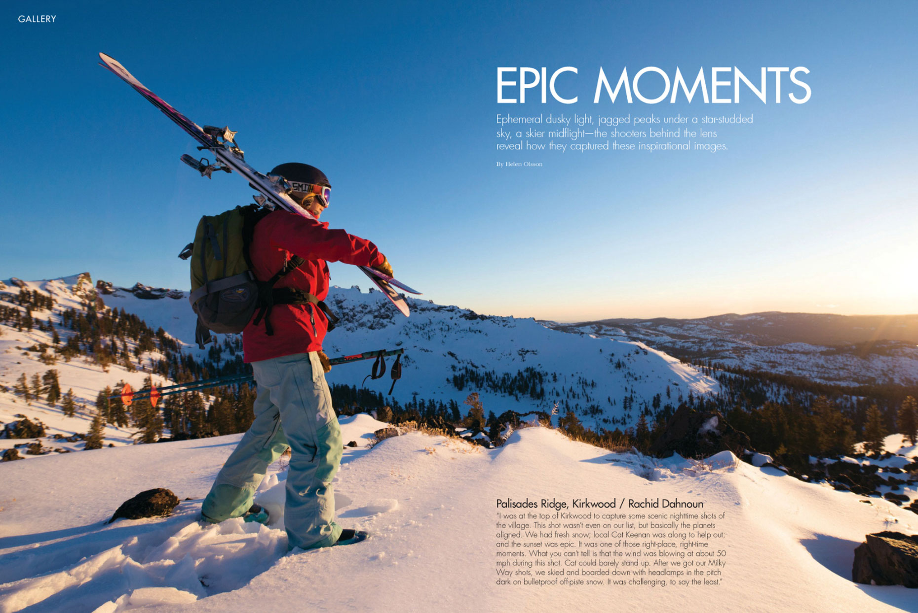 Epic Life Magazine - Kirkwood, California