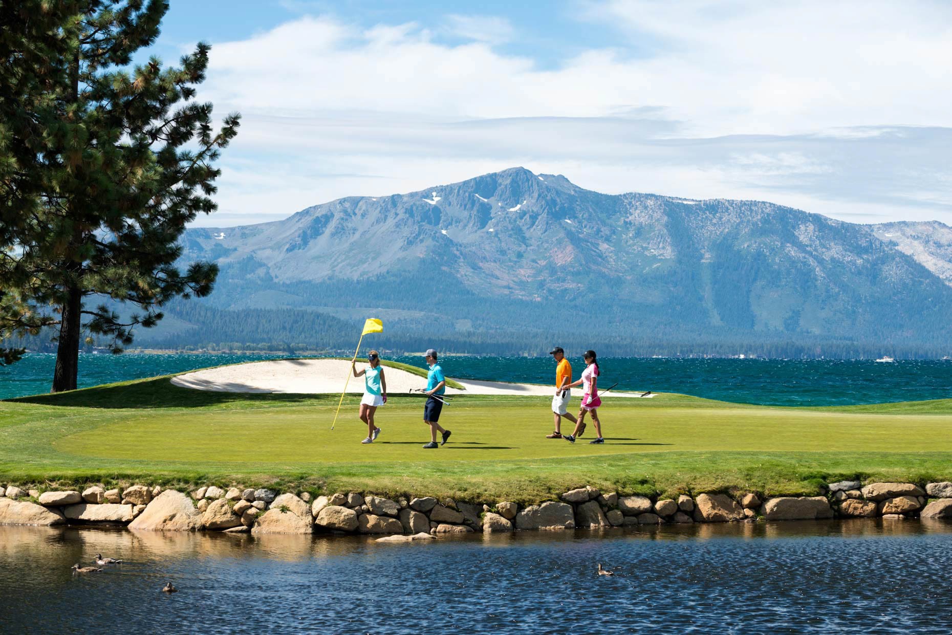 Golfing At Edgewood - Lake Tahoe, Nevada