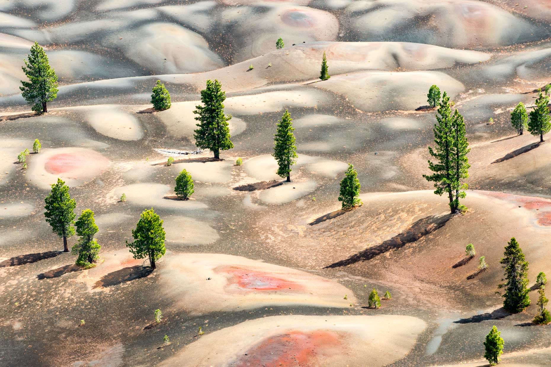 Painted Dunes - Lassen Volcanic National Park