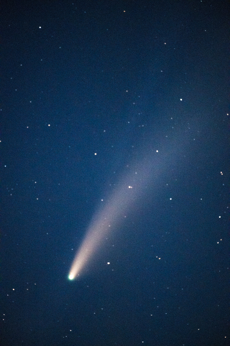 Night Sky - Comet NEOWISE  - Sonoma County, California