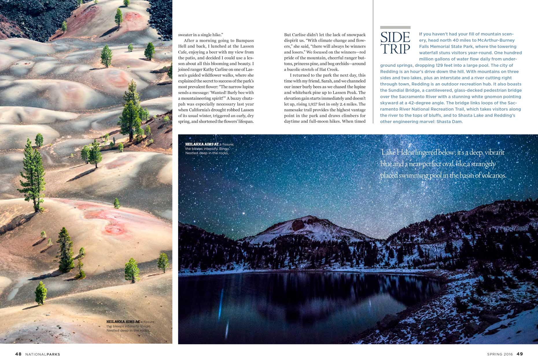 National Parks Magazine - Tear Sheet 4