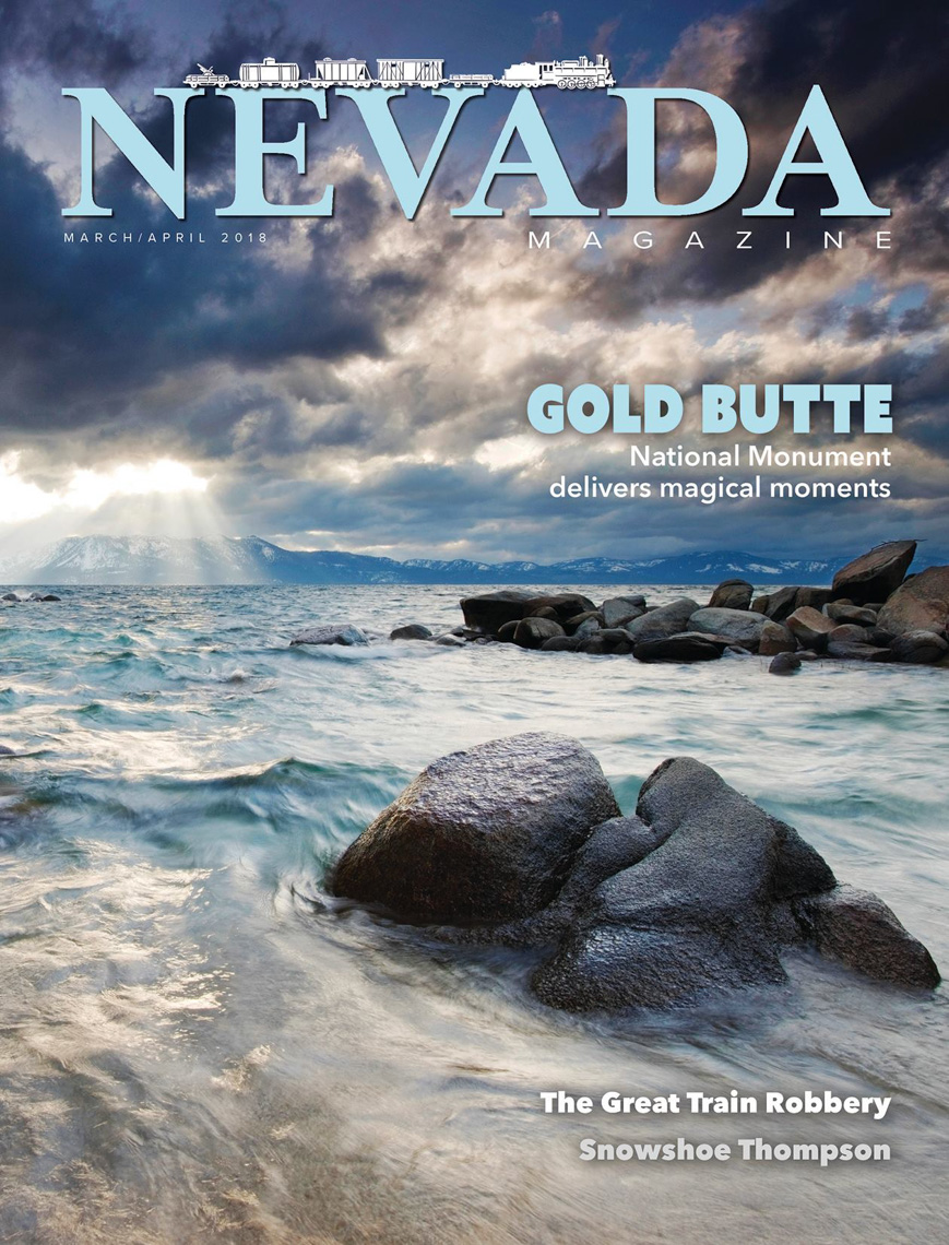 Nevada Magazine - Lake Tahoe, Nevada