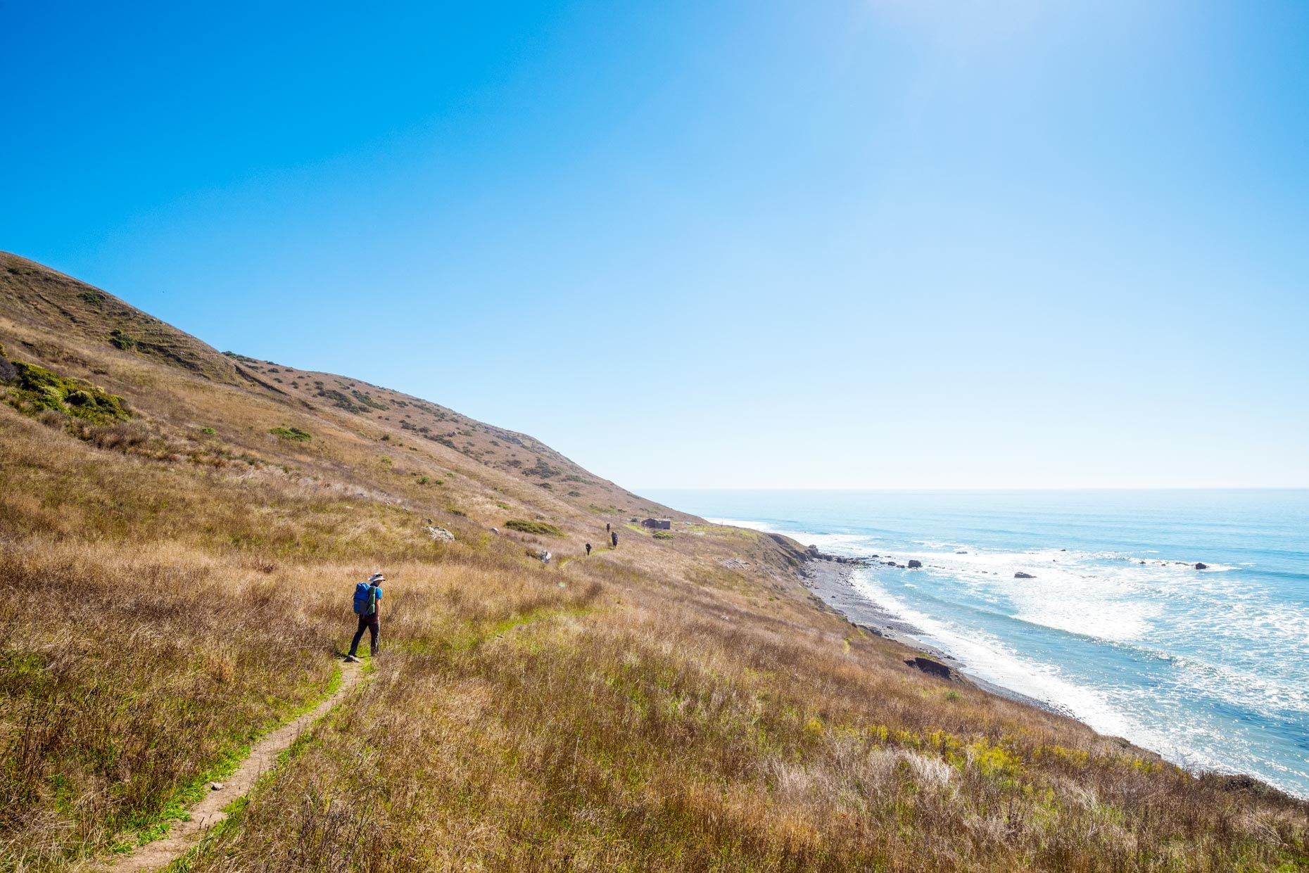 Backpacking the Lost Coast Trail, California