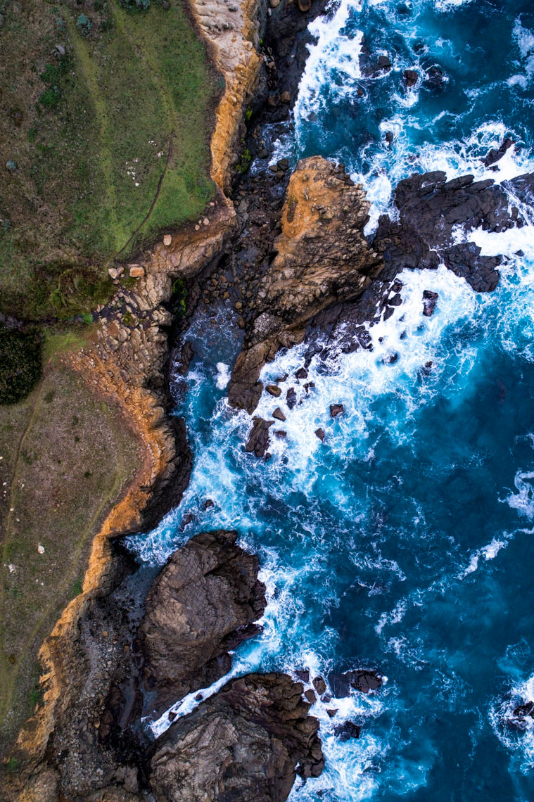 Drone - Salt Point State Park, Sonoma Coast, California