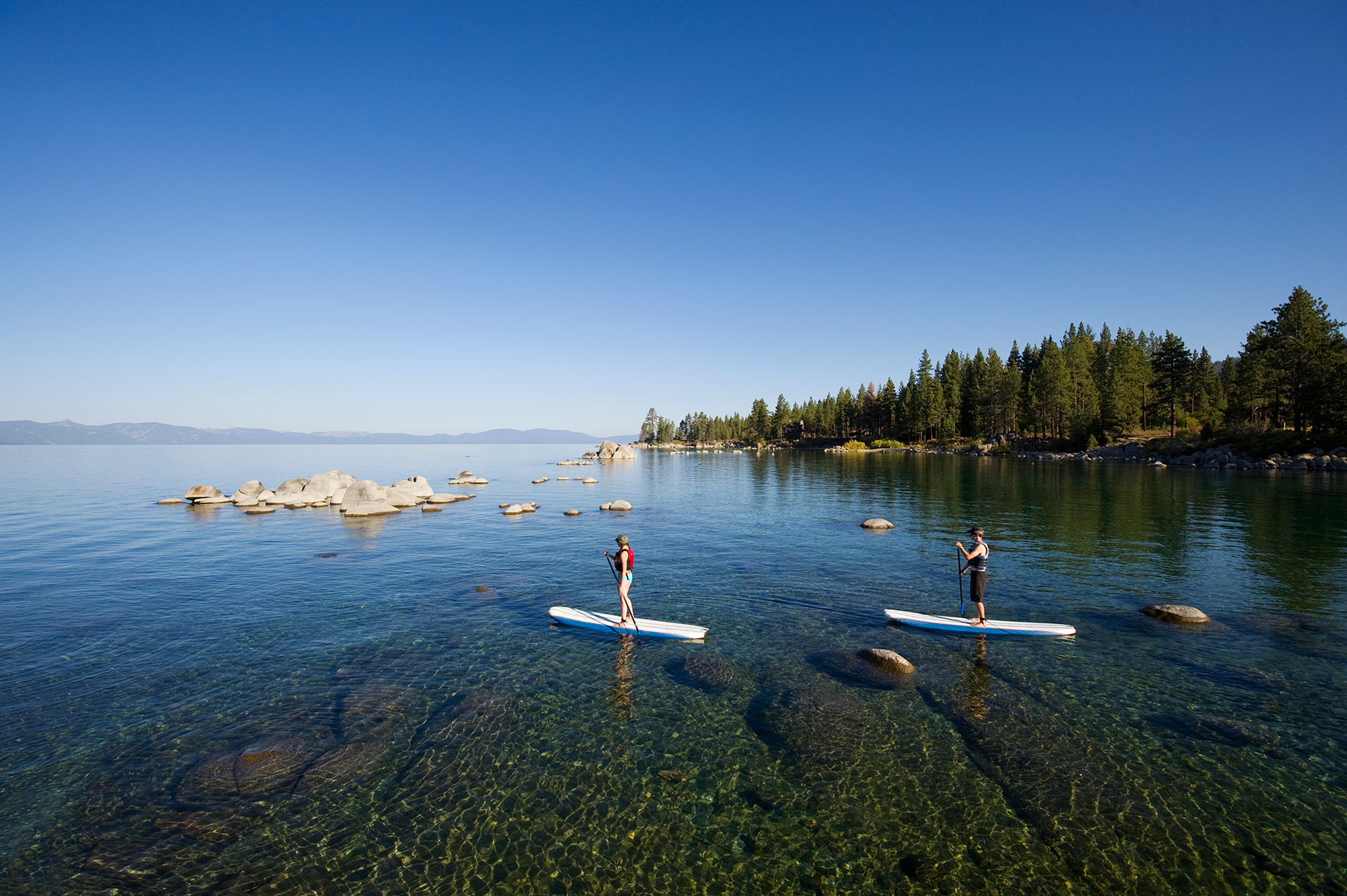 Stand Up Paddleboarding (SUP) - Lake Tahoe