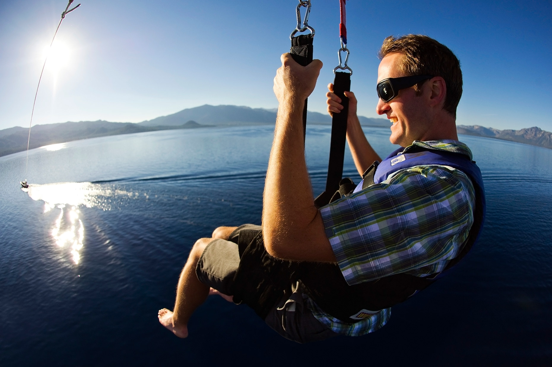 Parasailing Lake Tahoe - California And Nevada