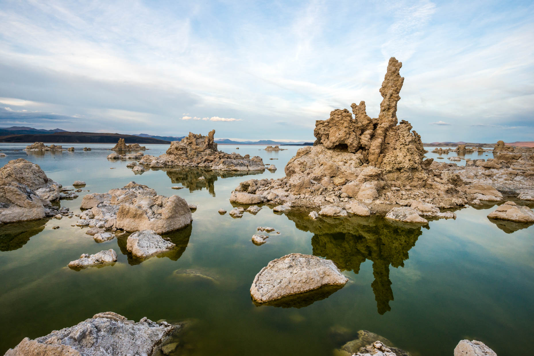 Mono Lake Tufas - Lee Vining, California