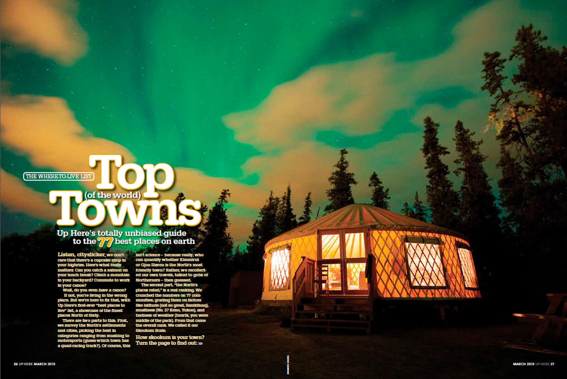 Up Here Magazine - Yukon Territory, Canada