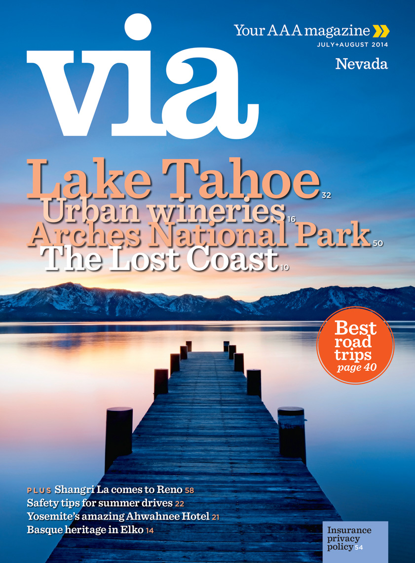AAA - VIA Magazine - Lake Tahoe, Nevada