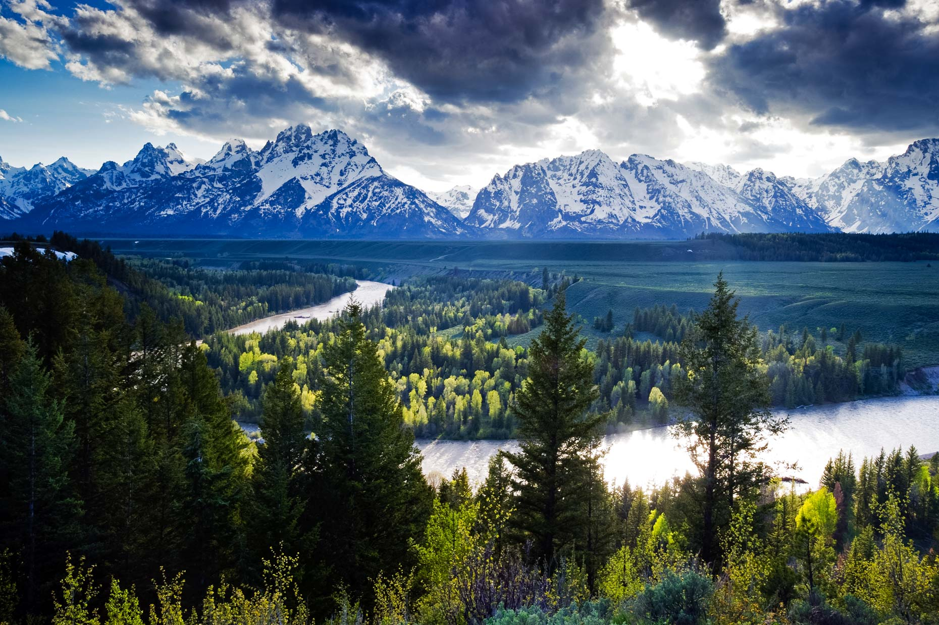 Sanke River Overlook - Grand Teton National Park, Wyoming