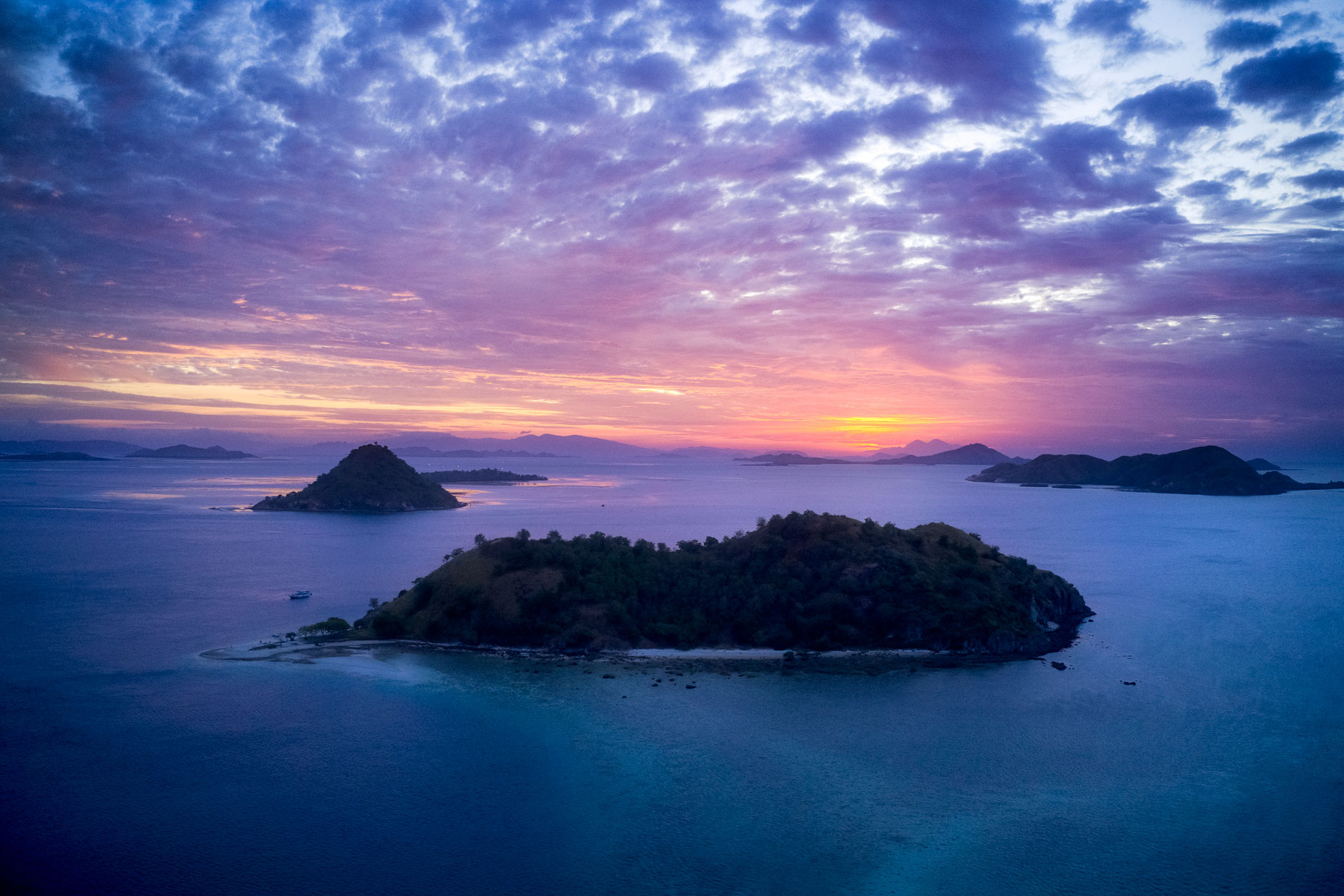 Flores Sea - Komodo National Park, Indonesia
