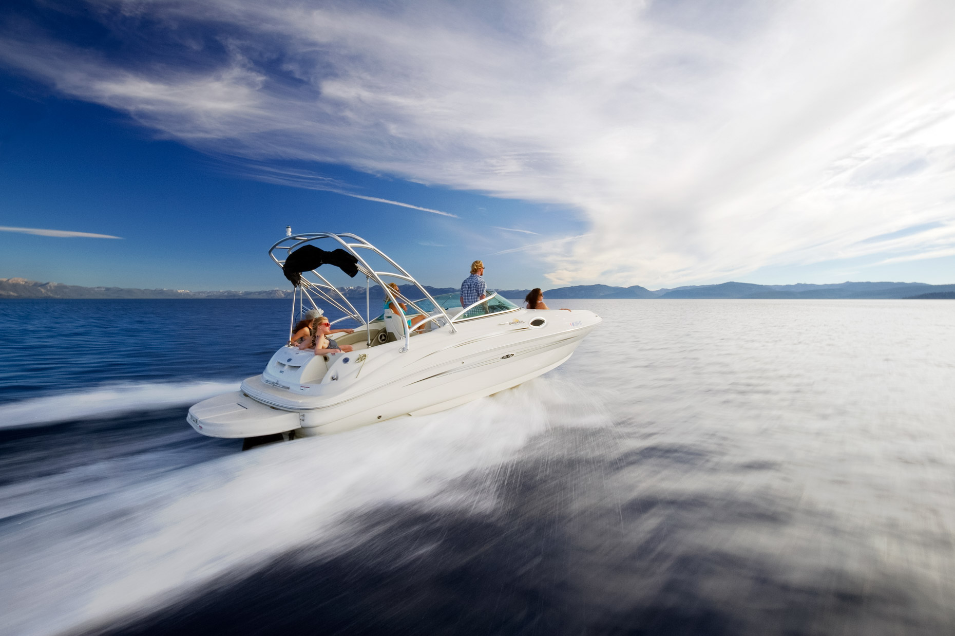 Boating On Lake Tahoe - Nevada