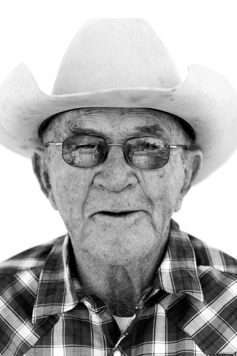 Nevada Rancher Portrait - Paradise Valley