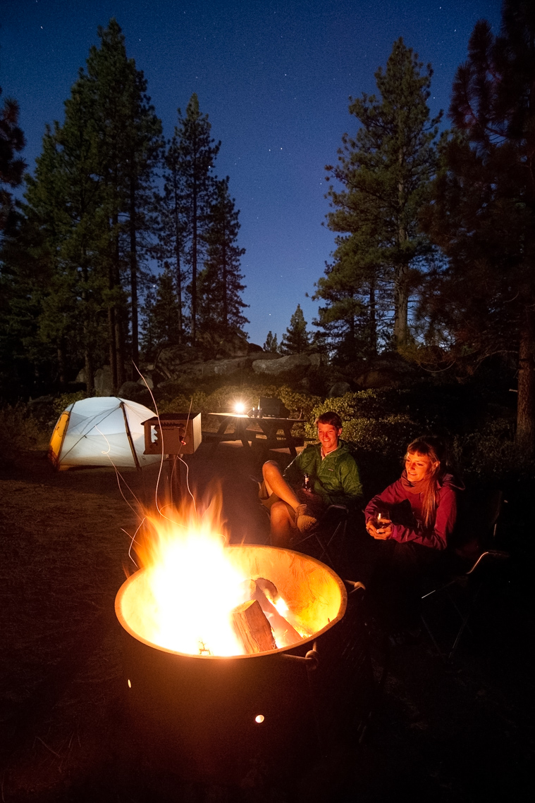 Camping At Zephyr Cove - Lake Tahoe, Nevada