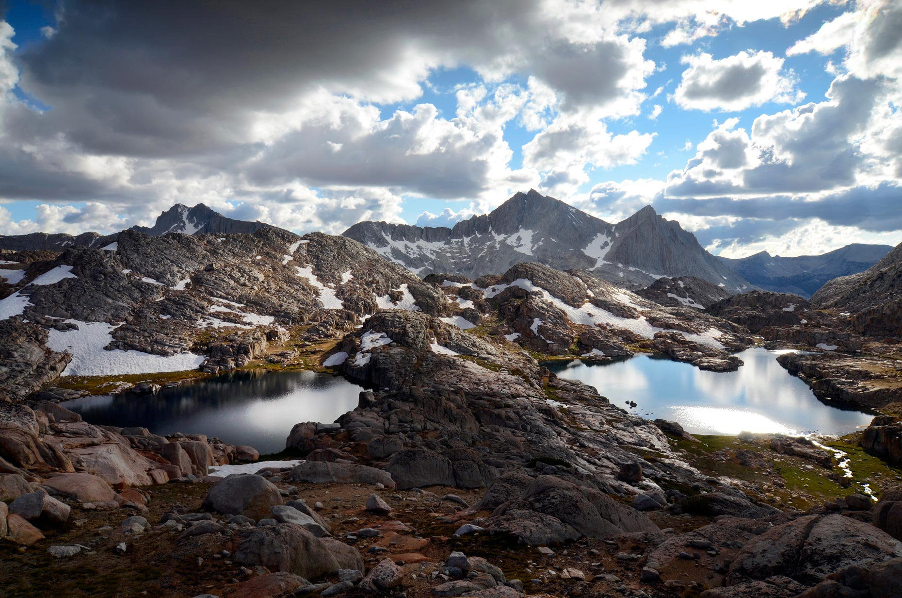 Bear Lakes Basin, High Sierra Nevada, California