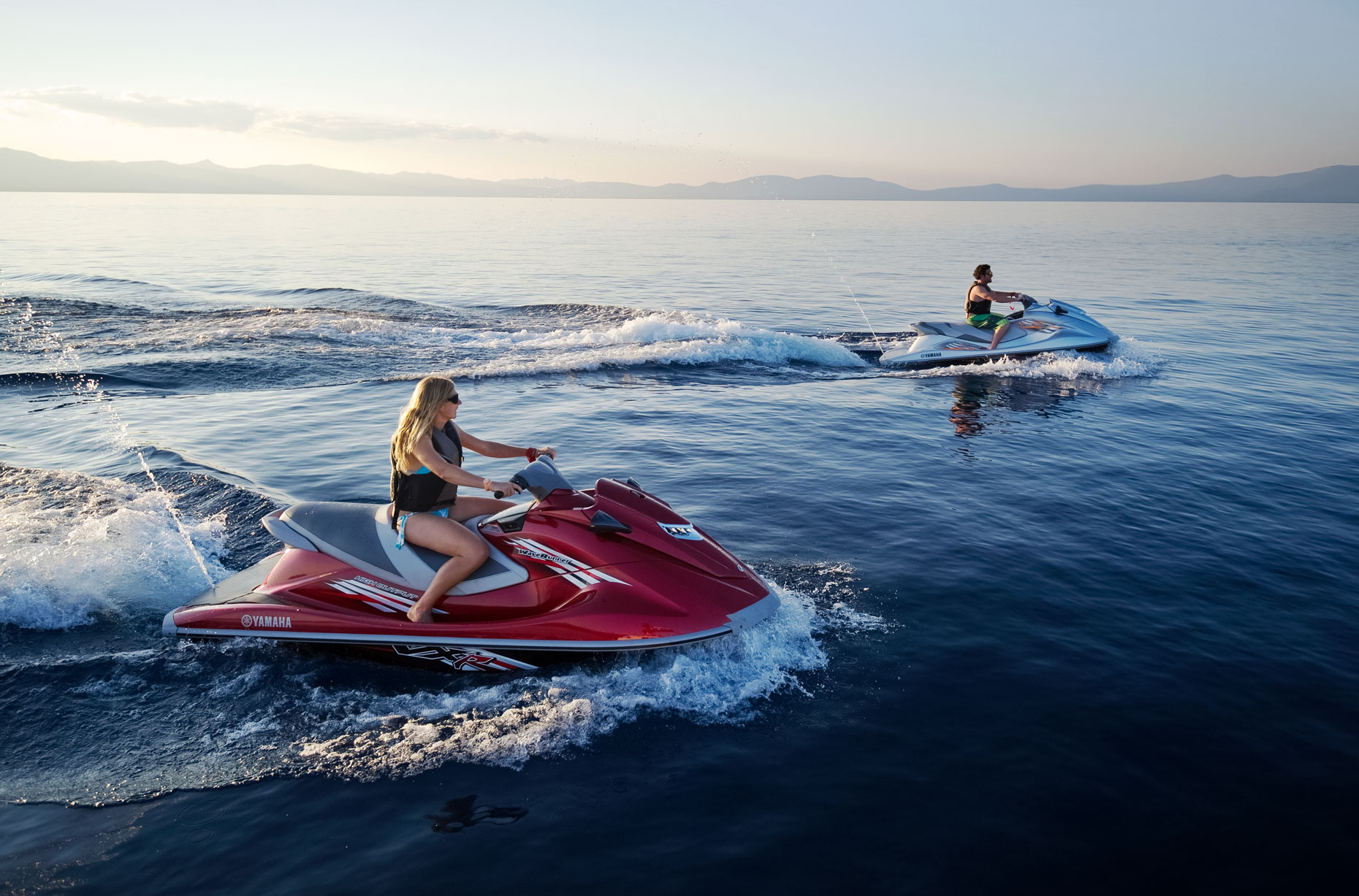 Waverunners On Lake Tahoe