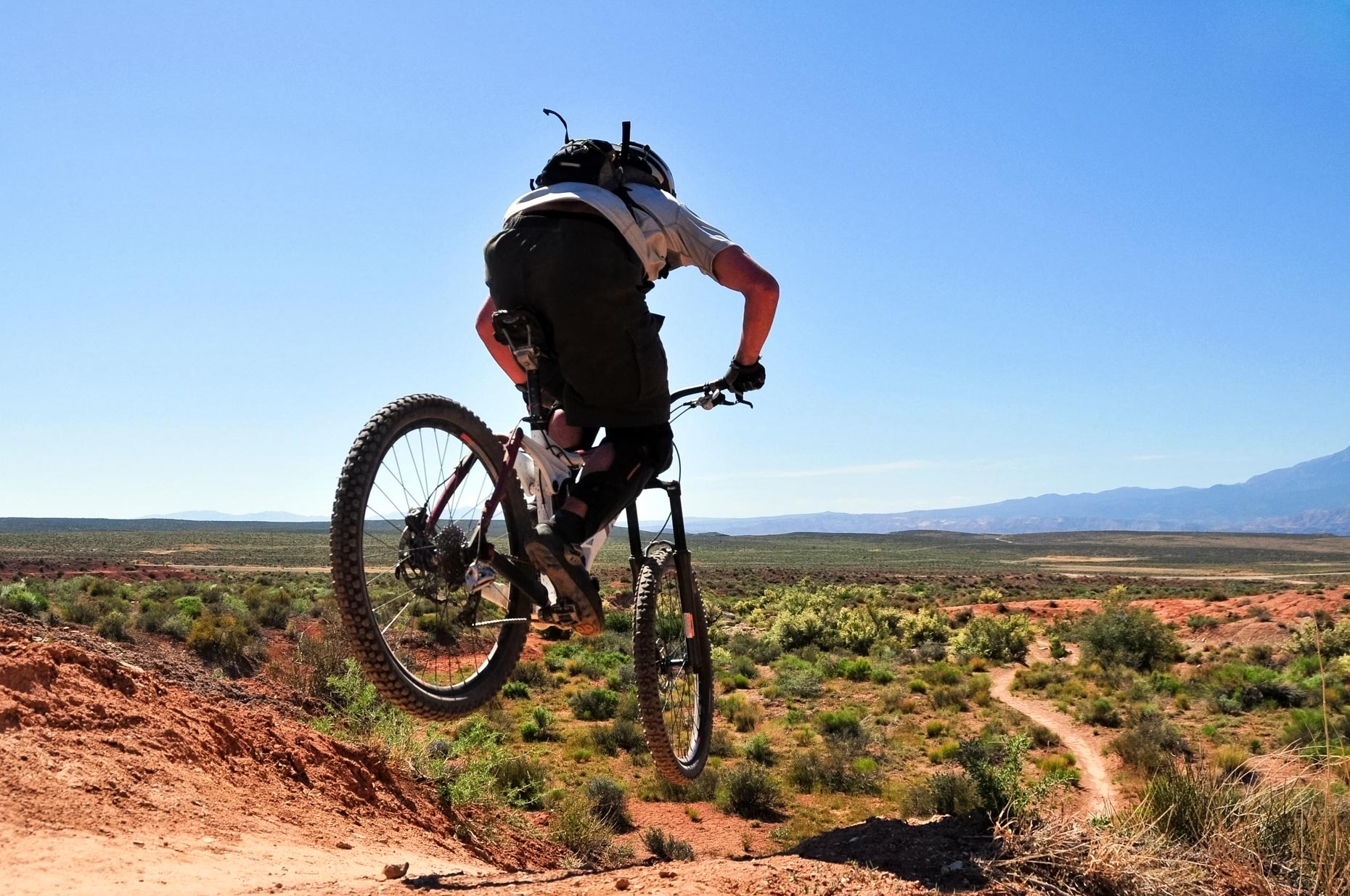 Mountain Biking The JEM Trail - Virgin, Utah