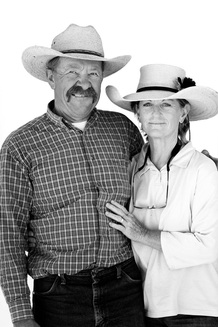 Nevada Ranchers Portrait - Clover Valley
