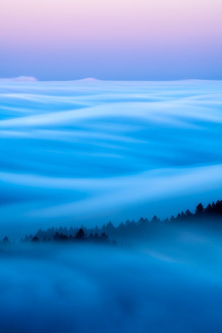 Fog Over San Francisco - Mount Tamalpais, California